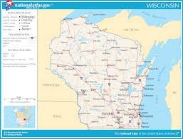 Pictures Of Maps Map Of Wisconsin Street Map Worldofmaps Net Online Maps And