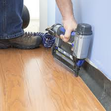 Hardwood Floor Gun How To Install An Engineered Hardwood Floor