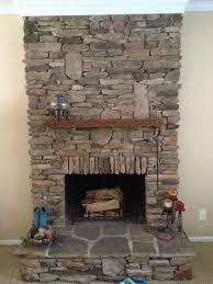 gracious install stone veneers over brick fireplace diy youtube n