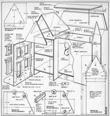 Free Miniature Dollhouse Plans by Free Doll House Design Plans Wooden Doll House Plan Double