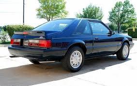 twilight blue mustang twilight blue 1990 ford mustang hatchback mustangattitude com