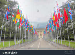 Picture Of Un Flag Flying Flags All 192 Member States Stock Photo 57116383 Shutterstock