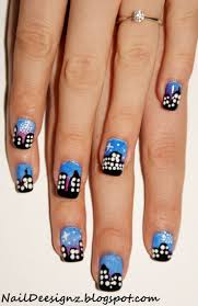 best 25 firework nails ideas only on pinterest firework nail