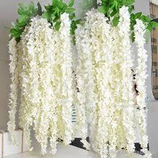 wedding party favors artificial flowers 1 6m silk flowers long