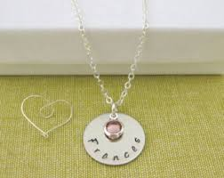 children s name necklace child name necklace etsy