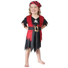 Age 2 3 Girls Boys Toddler Pirate Costume Childrens Kids Book Week