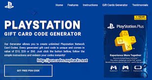 ps4 gift card free psn codes generator pro
