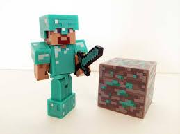 diamond steve minecraft diamond steve unboxing and review series 2