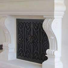 Texas Fireplace Screen by San Antonio Fireplace Door Guy