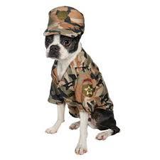 Halloween Army Costume Amazon Halloween Army Dog Costume Small Pet Supplies