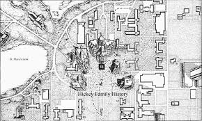 University Of Utah Campus Map by 1934 Thomas L Hickey Inc Built Notre Dame U0027s New Saint