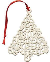 belleek lace tree ornament