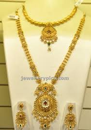gold haram sets 11 best marriage images on marriage gold jewellery