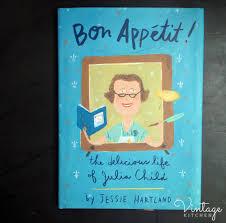 bon appetit book in the vintage kitchen