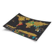 Scratch Off World Map Scratch Map Deluxe Travel