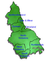 map of east uk golf clubs in northeast uk