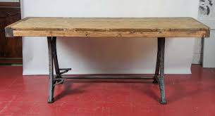 Americana Kitchen Island by Industrial Steel Workbench Kitchen Island Table At 1stdibs