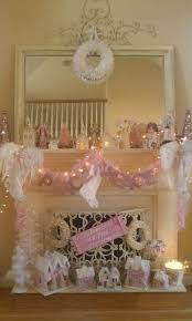 Shabby Chic Fireplace by Pink Shabby Chic Christmas Fireplace Pictures Photos And Images