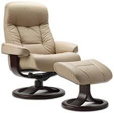 Reclining Chairs Leather Ergonomic Scandinavian Lounge