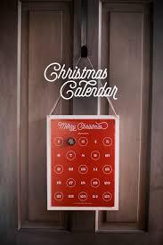 christmas countdown calendar christmas countdown calendar diy free print included the