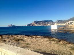 Wohnzimmerm El Calpe Ferienwohnung Atlantico Spanien Calpe Booking Com