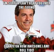 Nick Saban Memes - why nick saban and alabama are the worst