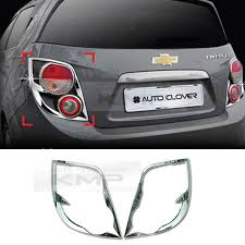 2015 chevy sonic tail light chrome tail light rear l molding cover c411 for chevy 2011 17