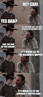 Rick And Carl Meme - rick and carl long meme imgflip