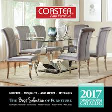 Coaster Dining Room Sets 2017 Coaster Dining Catalog By Seaboard Bedding And Furntiure Issuu