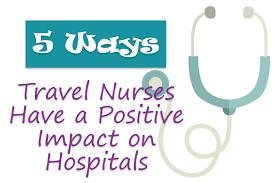 Massachusetts how much do travel nurses make images Ways travel nurses have a positive impact on hospitals gif