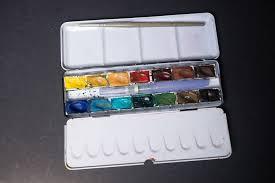 review kremer pigments 14 full pan watercolour box set 1 parka