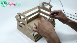 waste paper craft how to make pen stand pencil holder with