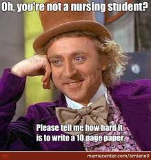 Nursing Student Meme - life of a nursing student by bmlane9 meme center