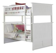 Amazoncom Nantucket Bunk Bed Twin Over Twin Caramel Latte - White bunk bed with drawers
