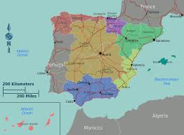 Map Of Portugal And Spain by Aiosearch Road Map Portugal