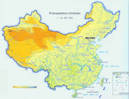 Wuhan China Map by China Climate Map Climate Map Of China Annual Precipitation And