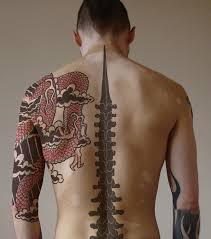 back tattoos for