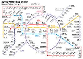 Sc Metro Map by Nagoya Municipal Subway Wikipedia