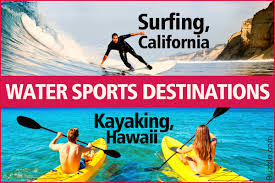 catch up with the best water sports destinations in the us