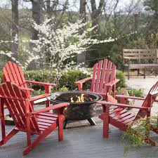 Firepit Chairs Coral Coast Pleasant Bay Adirondack Aspen Pit Chat Set Chairs