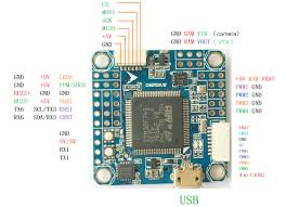 bf3 2 omnibus f7 flight controller stm32 f745 integrated osd built