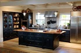 Black Kitchen Cabinet Ideas by Creative Black Kitchen Cabinets Black Kitchen Cabinets