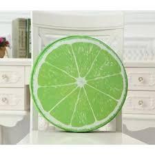 jeter un canapé 3d fruits design rond jeter oreiller canapé fauteuil canapé siège