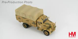 german opel blitz truck hobby master 1 72 ground power series hg3903 german wwii cargo
