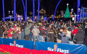 Six Flags Over Texas Holiday Hours Kissing Couples Earn Six Flags A New Guinness World Record
