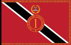 Flag For Trinidad And Tobago File President U0027s Colour Of The Trinidad And Tobago Regiment Png