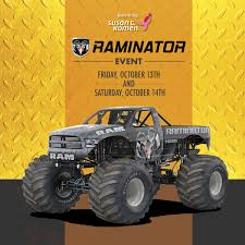 monster truck show lafayette la the raminator event