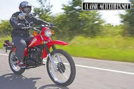 suzuki ts250 road test classic motorbikes