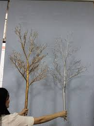 4 gold trees for weddings decorative metal trees for