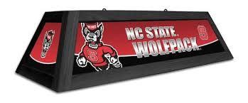 nc state pool table light nc state wolfpack 42 spirit pool table light contemporary pool
